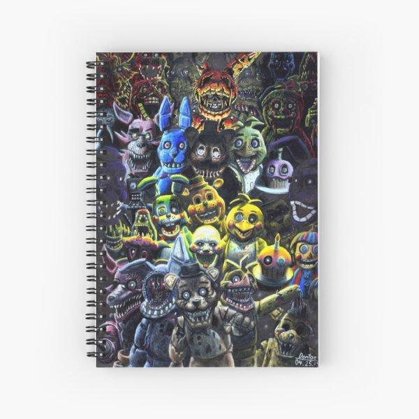 FNAF - The Night Shift Spiral Notebook