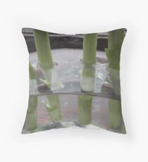 Even stems are beautiful... Throw Pillow