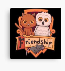 Animal Friendship Potter Canvas Print