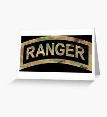 Ranger Tab Greeting Card