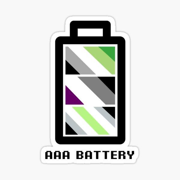 Triple A Battery Sticker