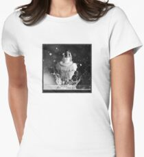 Beautiful Droplet Womens Fitted T-Shirt
