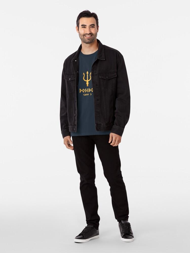 Vista alternativa de Camiseta premium Cabina 3- Poseidón