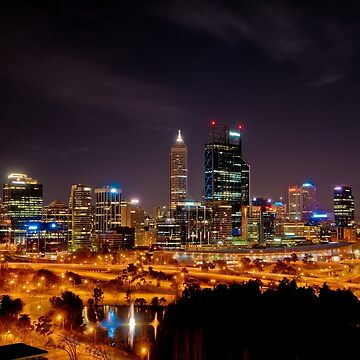Perth from Kings Park by eschlogl