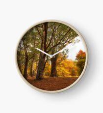 Autumn Glow Clock
