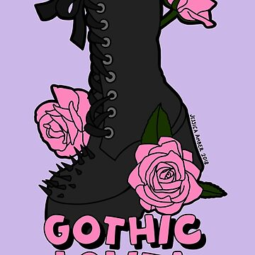 Gothic Lolita: The Shoe by JessicaAmber