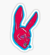 Latex bunny Sticker