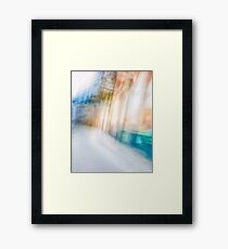 Ghostly colorful Architectures Framed Print