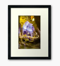 Moving in the Cathedral Framed Print
