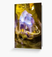 Moving in the Cathedral Greeting Card