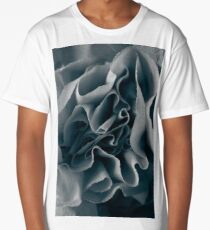 Blue rose paper background Long T-Shirt