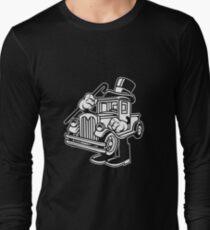 Old truck Cartoon Character Long Sleeve T-Shirt