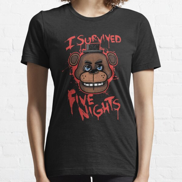 I Survived Five Nights At Freddy's Pizzeria Essential T-Shirt