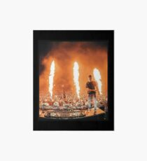 Lámina de exposición DJ Martin Garrix