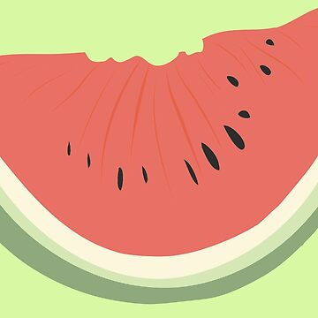 Watermelon Pattern Summer by SugarVeryGlider