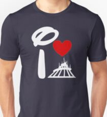 I Heart Space Mountain (Inverted) T-Shirt