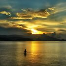 lonely fisherman by michelle meenawong