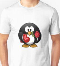 Valentine Penguine Unisex T-Shirt