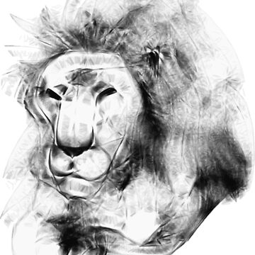 Sketchy Lion by bware-clothing