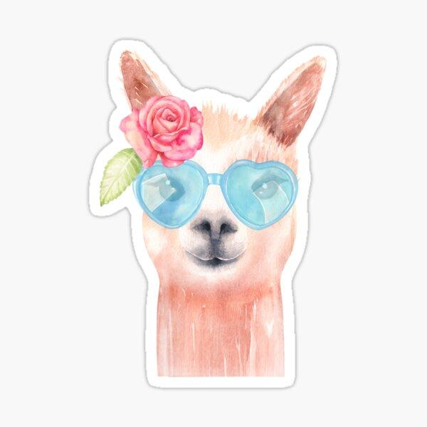 Sweet alpaca. Sticker