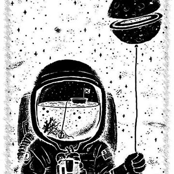 space astronaut by Kickasstshirts