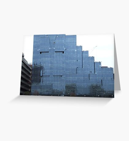 Glass Building Greeting Card