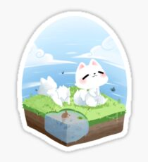 Cute Puppies Outing Sticker