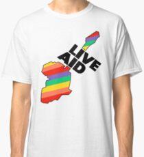Live Aid Band Aid 1985 Symbol Classic T-Shirt