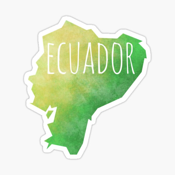 Ecuador Sticker