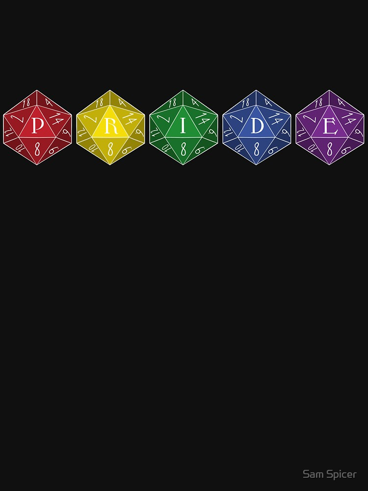 D20 Pride by flailingmuse