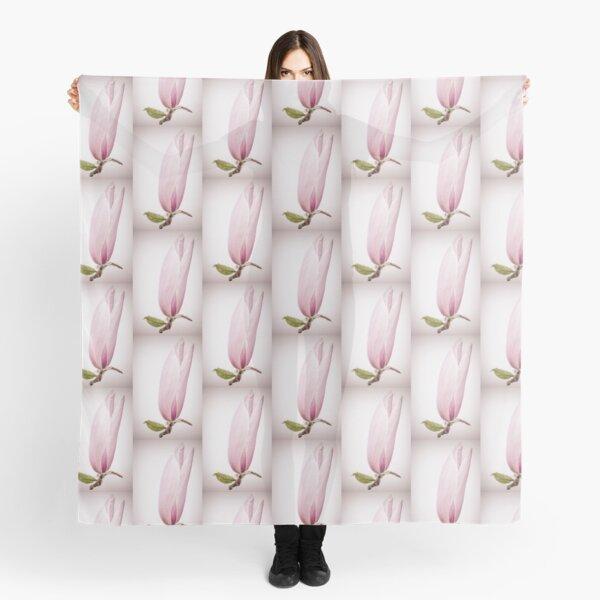 Single Magnolia Flower Scarf