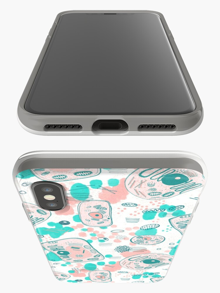 Alternate view of plant vs animal cells iPhone Case & Cover