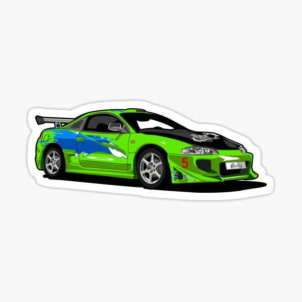 Fast and Furious Eclipse! Sticker