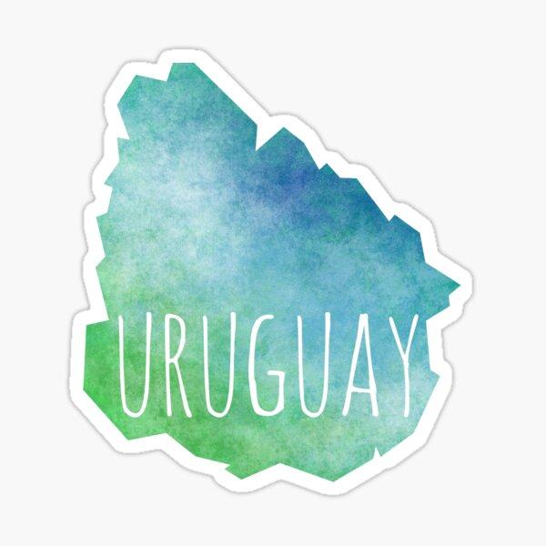 Uruguay Pegatina