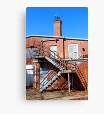Nikola Tesla - Wardenclyffe Laboratory Building | Shoreham, New York  Canvas Print