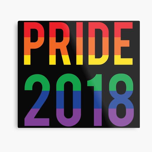 Pride Month 2018 Metal Print