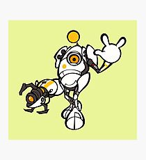Bomberman Portal P-body Kawaii Photographic Print