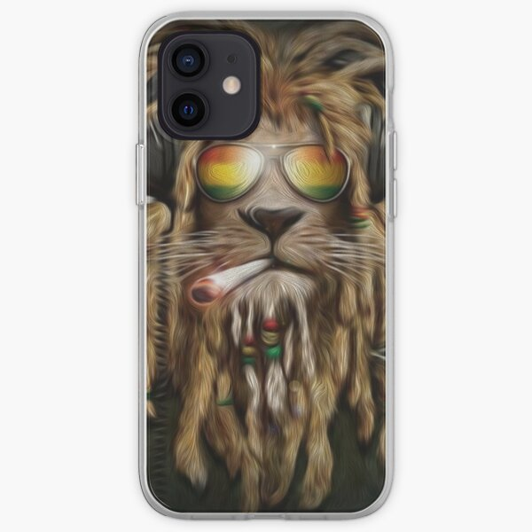 RASTA LION iPhone Soft Case