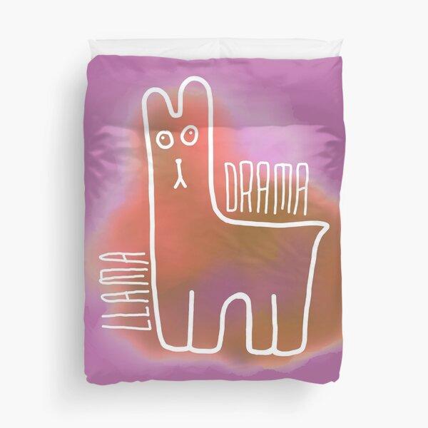 Drama Llama Duvet Cover