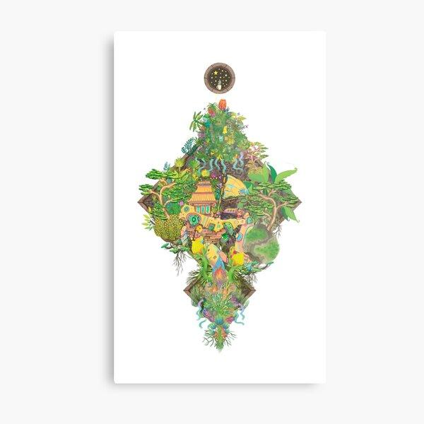 Junk Garden Metal Print