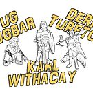 Tug, Derf, Karl by YMIATavern