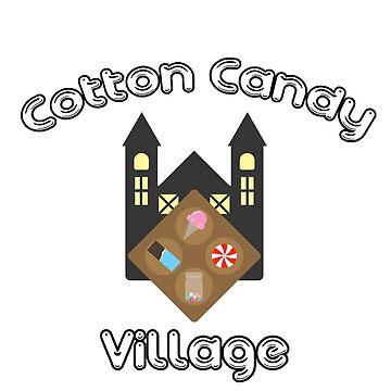 Cotton Candy Village by YMIATavern