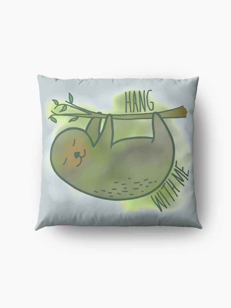 Alternate view of Hang with me Floor Pillow
