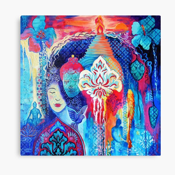 Mantra Ma Gamaya - Guide Me | Art Canvas Print