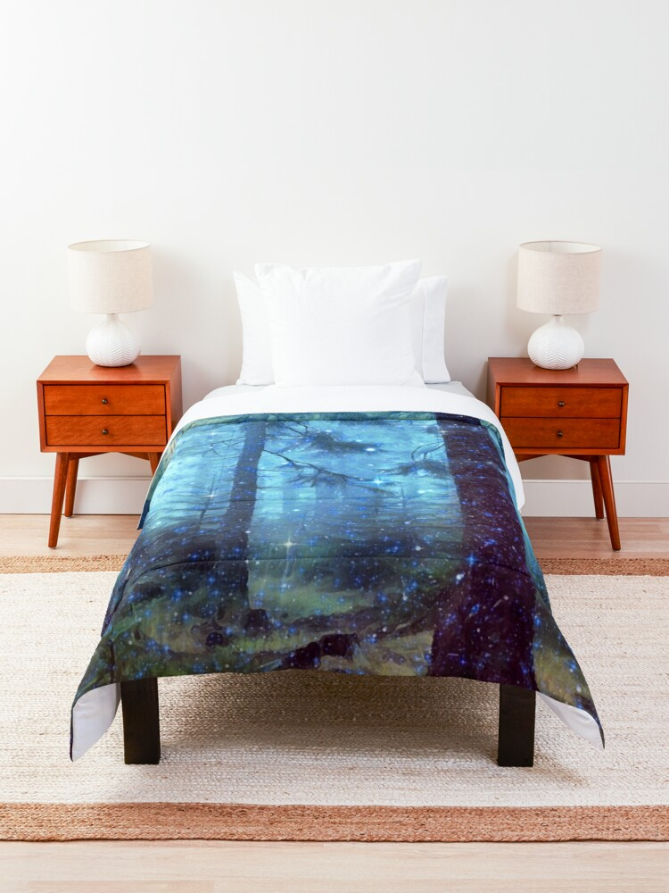 Alternate view of Magical Forest Comforter