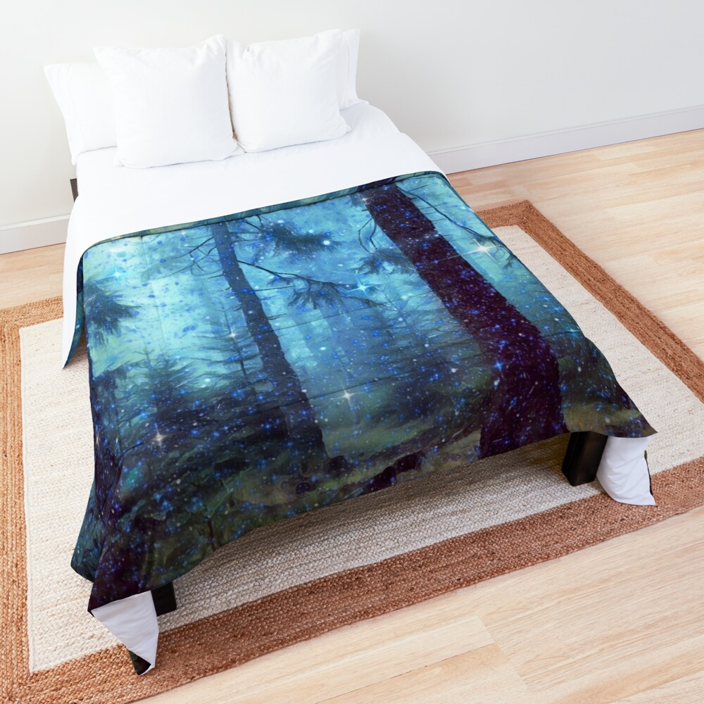 Magical Forest Comforter