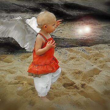 Angel Of The Shore - The Shore Spirit by StarKatz
