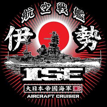 Aircraft cruiser Ise by deathdagger