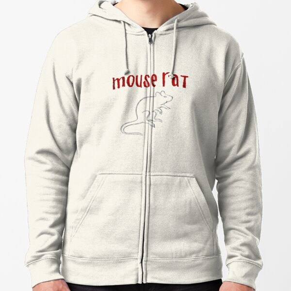 Mouse Rat Zipped Hoodie