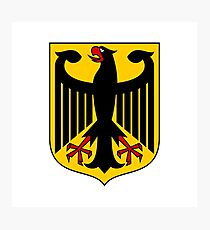 Coat of arms of Germany Photographic Print